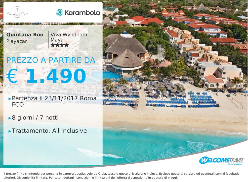 Quintana Roo Playacar | Viva Wyndham Maya Resort 4 Stelle